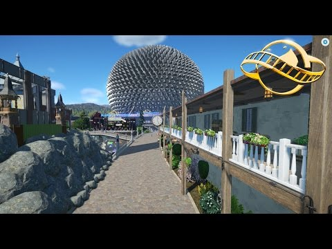 Eurosat 1.0 in Planet Coaster ONRIDE POV- Created By Leon