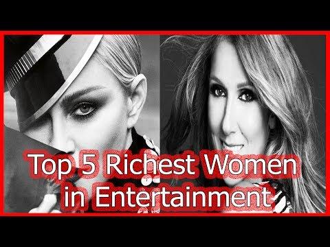 Top 5 Richest Women in Entertainment