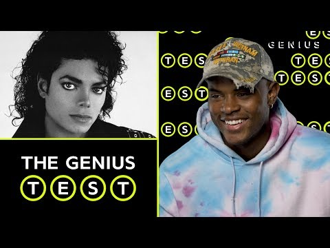 Trevor Jackson Takes The Michael Jackson Quiz | The Genius Test