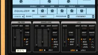 Groove Machine Series | Using the Filters