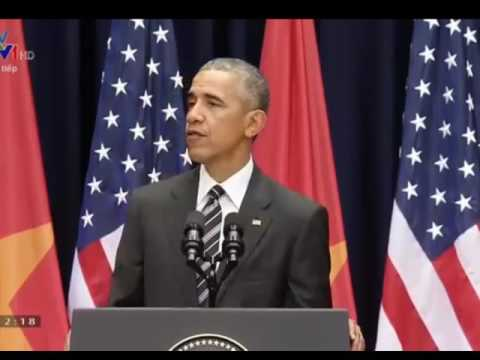 President Obama speaks with 2,000 young Vietnamese 24/5