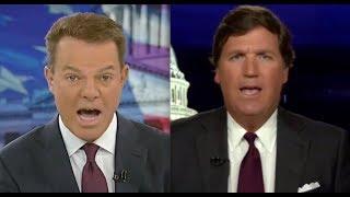 Fox's Tucker Carlson &  Shep Smith engage in heated feud on air