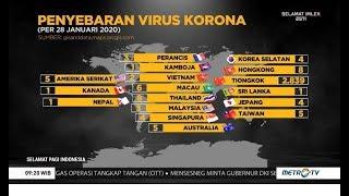 Tercatat ada 82 orang meninggal dan 17 negara yang sudah terkonfirmasi adanya temuan kasus virus corona. kementerian kesehatan memastikan belum warga neg...