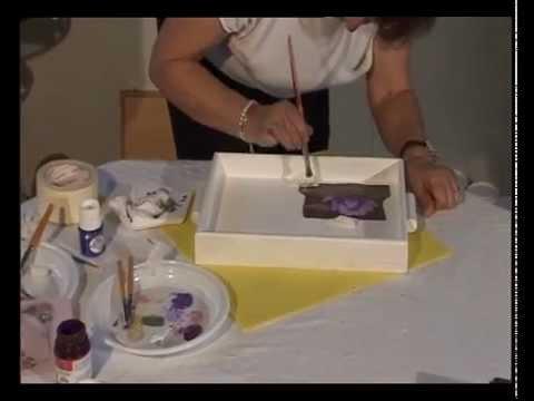 Tratamiento Y Decoración Bandeja De Madera