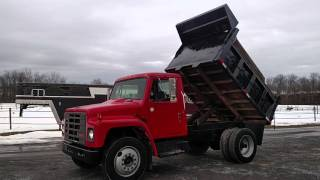 1989 international s1600 Dump Truck 7.3 Diesel.