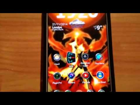 Naruto Live Wallpaper on Android!