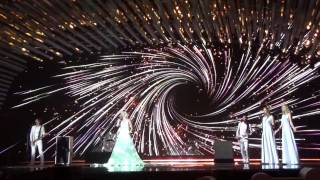 ESCKAZ in Vienna: Polina Gagarina (Russia) - A Million Voices (Final dress rehearsal)