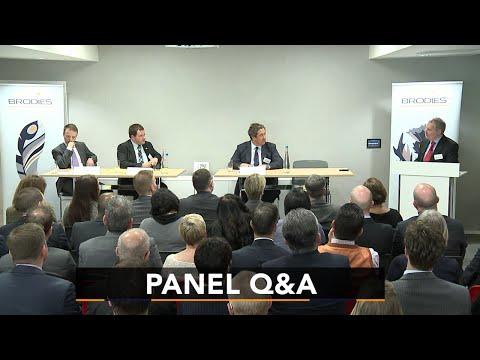 Panel Q&A   Brodies Business Talks 2016