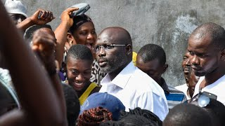 Présidentielle au Libéria : des résultats partiels placent George Weah en tête