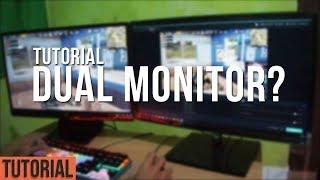Tutorial Menggunakan Dual Monitor!   Bahas Kelebihan & Kekurangan Dual Monitor