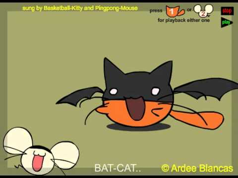 Bat Cat With Mp3 Available