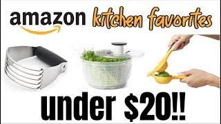20 BEST KITCHEN GADGET FOR UNDER $20 EACH | AMAZON FAVORITES KITCHEN TOOLS