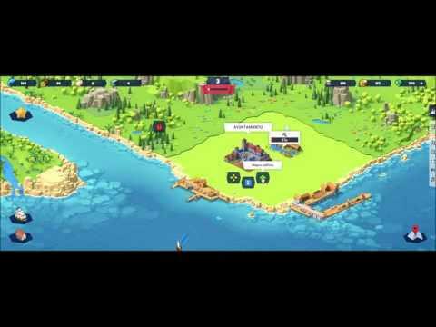 Seaport facebook game first look gameplay español