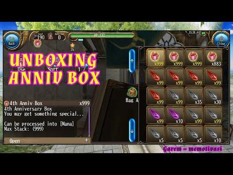 [Toram Online] UNBOXING ANNIV BOX