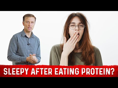 Why You Get Sleepy After Eating Protein