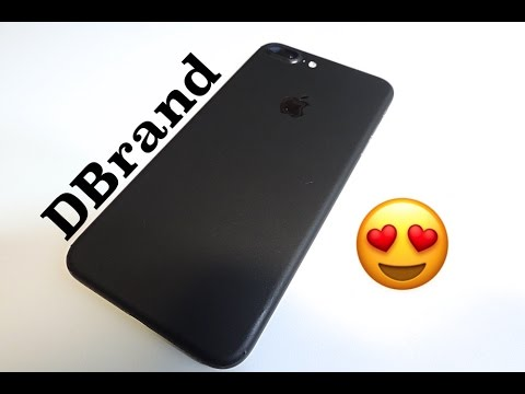 black iphone skin iphone 7 matte black skin dbrand 4595