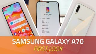 Samsung Galaxy A70 First Look | Specs, Camera, Features, and More thumbnail