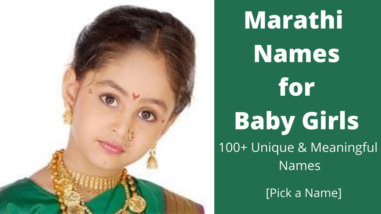 MARATHI NAMES FOR BABY GIRLS   20+ Unique & Meaningful Names 20   Pick a  Name