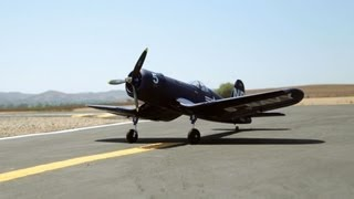 New 1270MM Dynam F4U Corsair - The Best World War II Plane