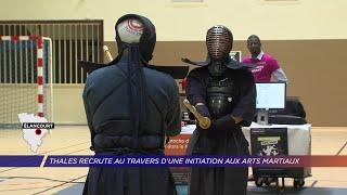 Yvelines | Thales recrute à travers une initiation aux arts martiaux