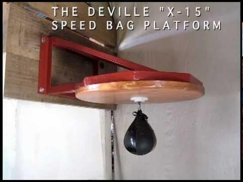 X 15 Speed Speed Bag Platform | The DEVILLE