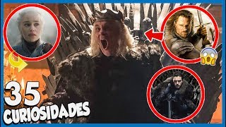 35 Curiosidades de GAME OF THRONES