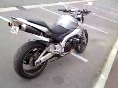 suzuki gsr 600 shark exhaust sound no db killer no. Black Bedroom Furniture Sets. Home Design Ideas
