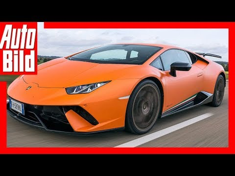 Lamborghini Huracán Performante (2018) Extremtest - YouTube