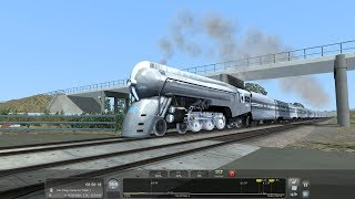 Train Simulator 2018 HD: New York Central J3a Dreyfuss Hudson @ 90 MPH w/ 20th Century Limited