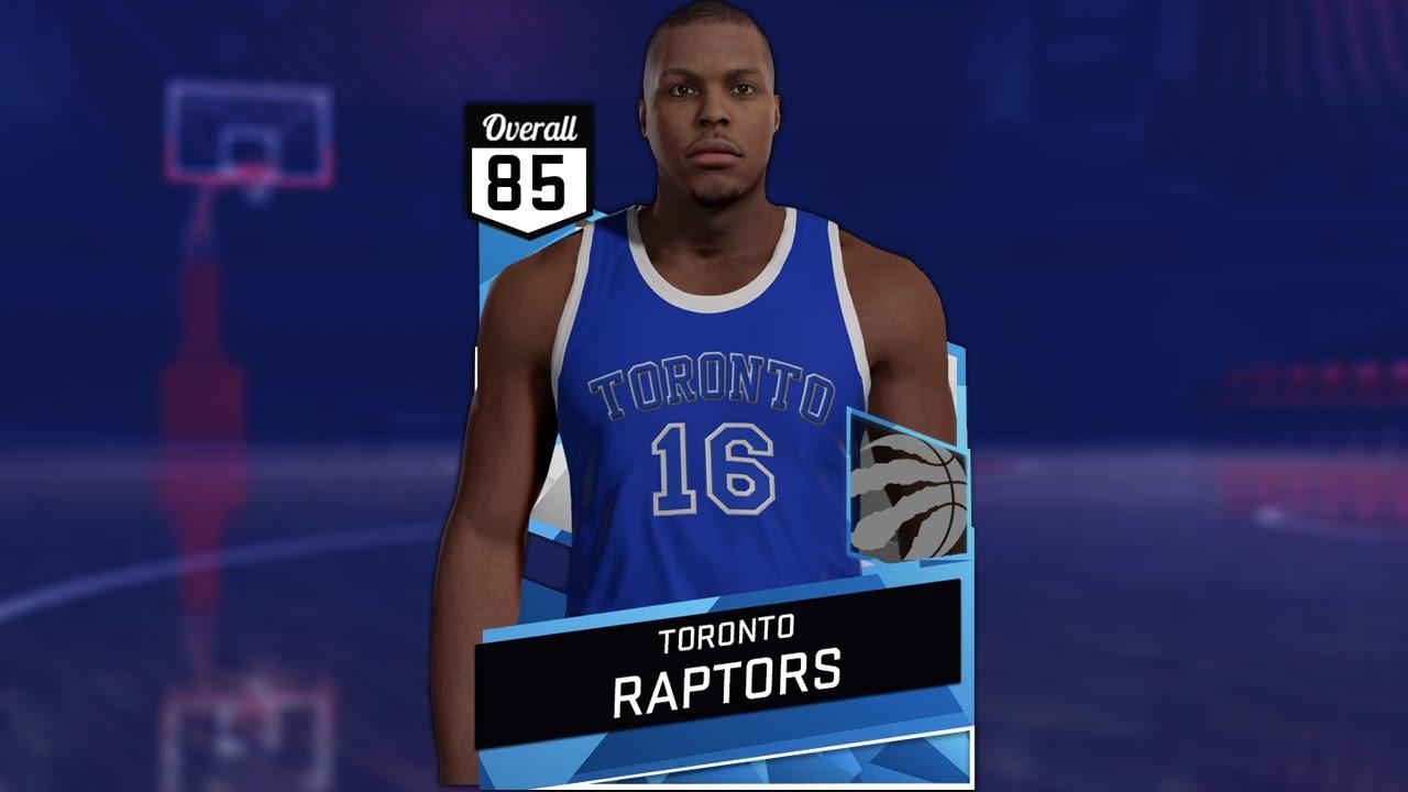 ff792da8f2e ... NBA 2K16 2016-17 Toronto Raptors Huskies Chinese New Year Alternate  Jersey Tutorial - YouTube ...