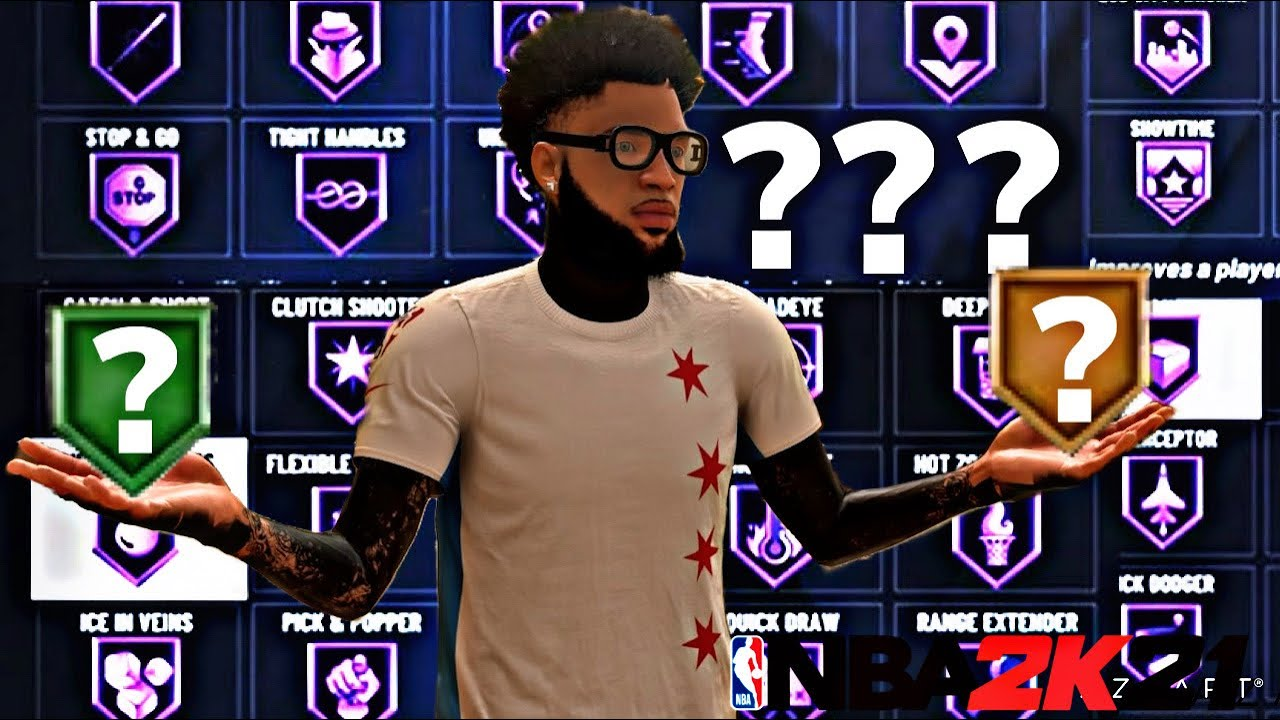 THE BEST PLAYMAKING SHOT CREATOR BADGES IN NBA2K21! BEST SHOOTING & PLAYMAKING BADGES IN NBA2K21!