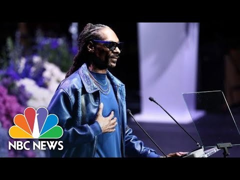 Snoop Dogg Remembers Nipsey Hussle: 'You Are A Peace Advocate, Nip' | NBC News
