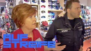 Manipulierte Fahrräder - BETRUG im Geschäft! | Auf Streife | SAT.1 TV