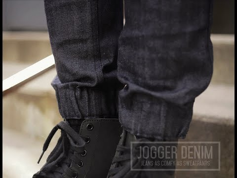 how to make joggers out of jeans
