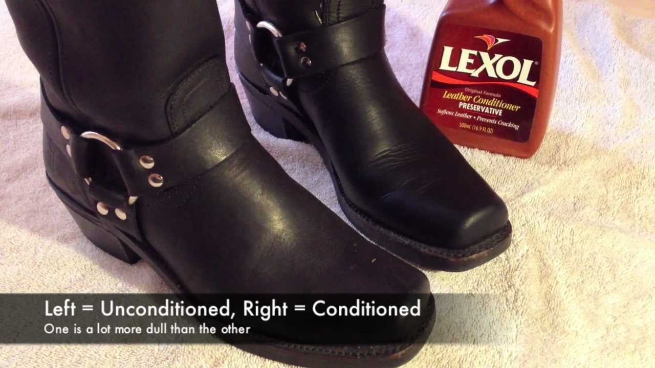How To Condition Polish Leather Boots You