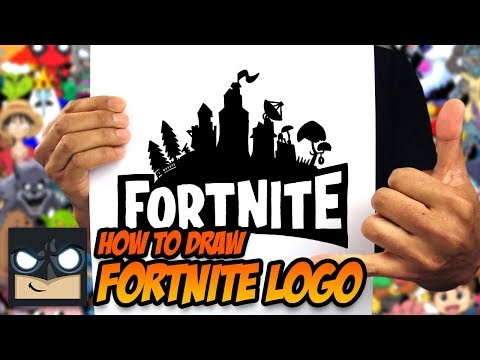 How To Draw Fortnite Logo