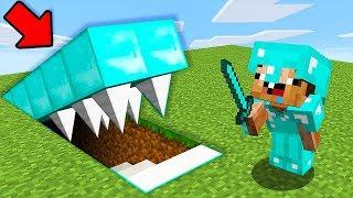 СЕКРЕТНАЯ БАЗА ПРО В Майнкрафте! Minecraft Мультики Майнкрафт троллинг Нуб и Про
