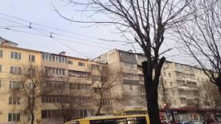 Обрыв троллейбусных проводов во Владивостоке 3.01.2017