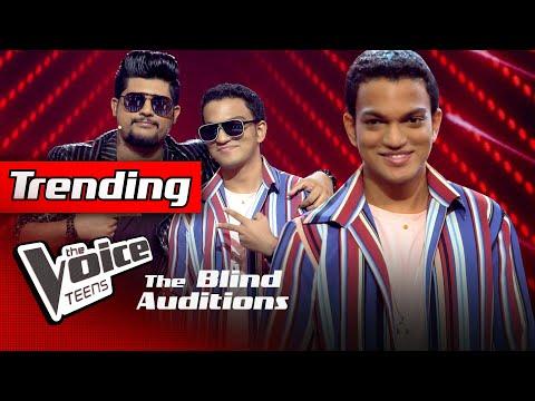 Shehara Dilaksha   Mal Mitak Thiyanna(මල් මිටක් තියන්න)  Blind Auditions   The Voice Teens Sri Lanka