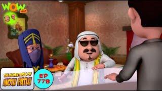 motu patlu in hotel motu patlu in hindi 3d animation cartoon for kids as seen on nickelodeon