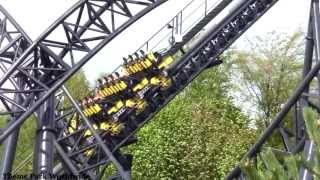 The Smiler Testing Footage (13/05/13)  - Full Off Ride Including Effects - Alton Towers