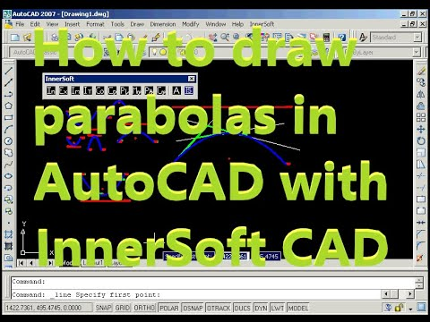 How To Draw Parabolas In Autocad With Innersoft Cad Three Points Three Tangents Vertex And Point Youtube È uguale la formula o cambia??? how to draw parabolas in autocad with innersoft cad three points three tangents vertex and point