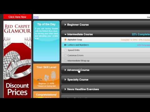 Learn How To Type Faster Online For Free With Typingweb