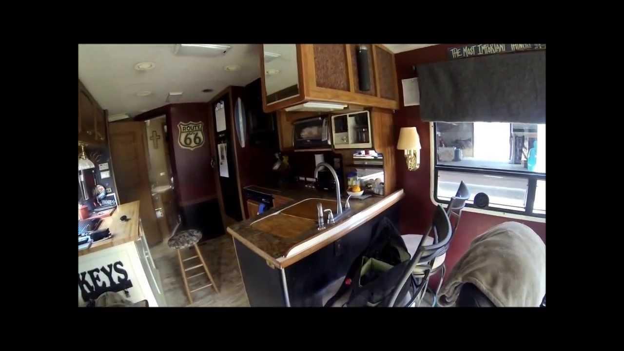 living full time in a motorhome youtube. Black Bedroom Furniture Sets. Home Design Ideas