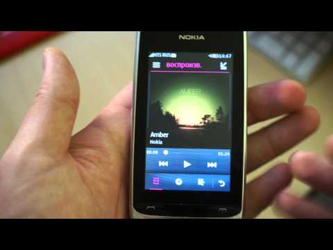 Видео Nokia 309 Asha