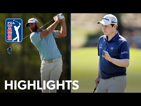 Highlights | Dustin Johnson vs. Robert MacIntyre | WGC-Dell Match Play | 2021