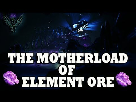 How to find The motherload of Element Ore.