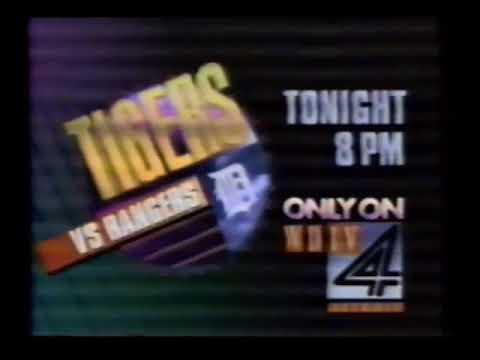 WDIV Detroit: NBC World News/Wheel of Fortune April 4 1989