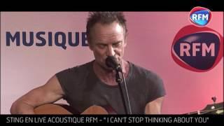 Live acoustique Sting chez RFM / I Can
