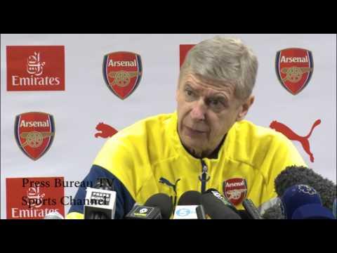 Arsene Wenger pre Arsenal vs Newcastle